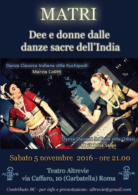 ASSOCIAZIONE CULTURALE ORCHESTÉS │ DANZA CLASSICA INDIANA: DANZA INDIANA A ROMA