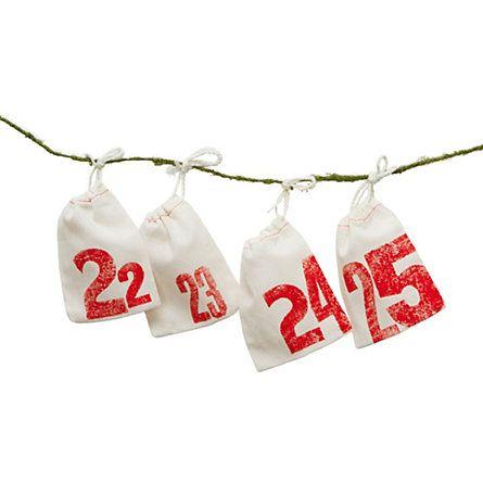 [terrain] printed pouches advent calendar