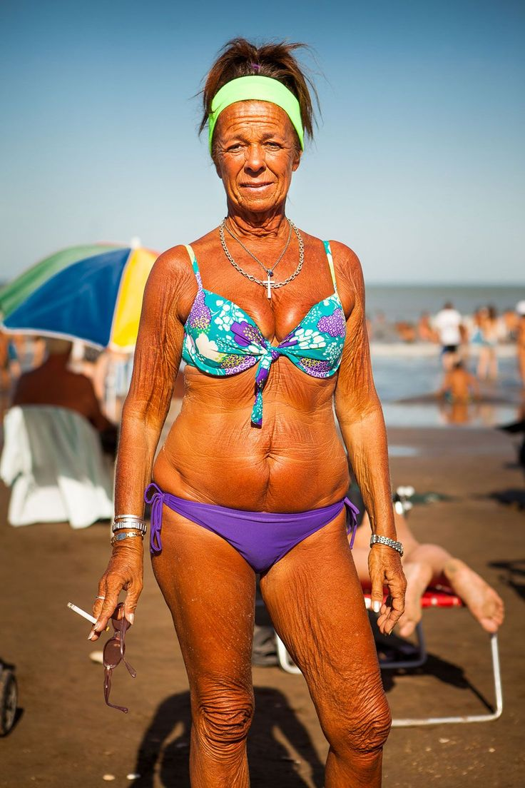 These 14 Photos Prove That Body Confidence Looks Great At Any Age #refinery29  http://www.refinery29.com/mar-del-plata-beach-tradition#slide-14  Punta Inglesa Beach, Mar del Plata, Argentina....