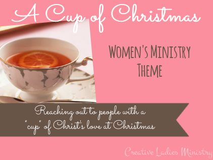 Cup of Christmas Theme for Womens Ministry Creative #1: 39bb5da a74efb7fc27c christmas themes christmas tea