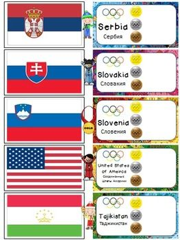 Winter Olympics 2014 ~ Parade of Nations