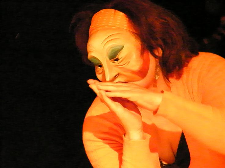Mascara teatral, Valparaíso, Chile