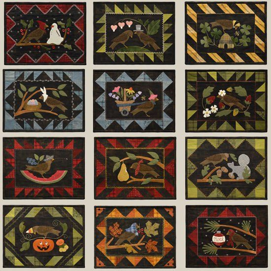 21 best Quilts - Bertie Through the Year images on Pinterest ... : all through the night quilt patterns - Adamdwight.com