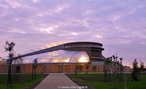 Centre aquatique d'Agde © Laurent Uroz