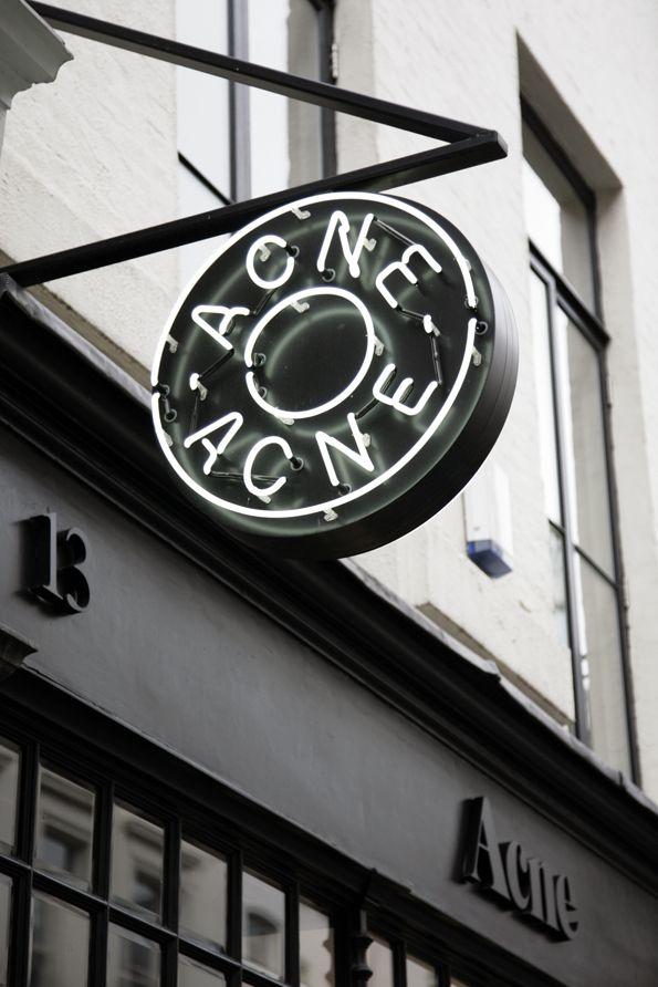 Whistles Neighbourhood Mayfair: Acne                                                                                                                                                      More