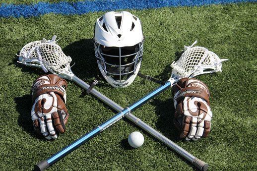 Lacrosse gear...great pic idea