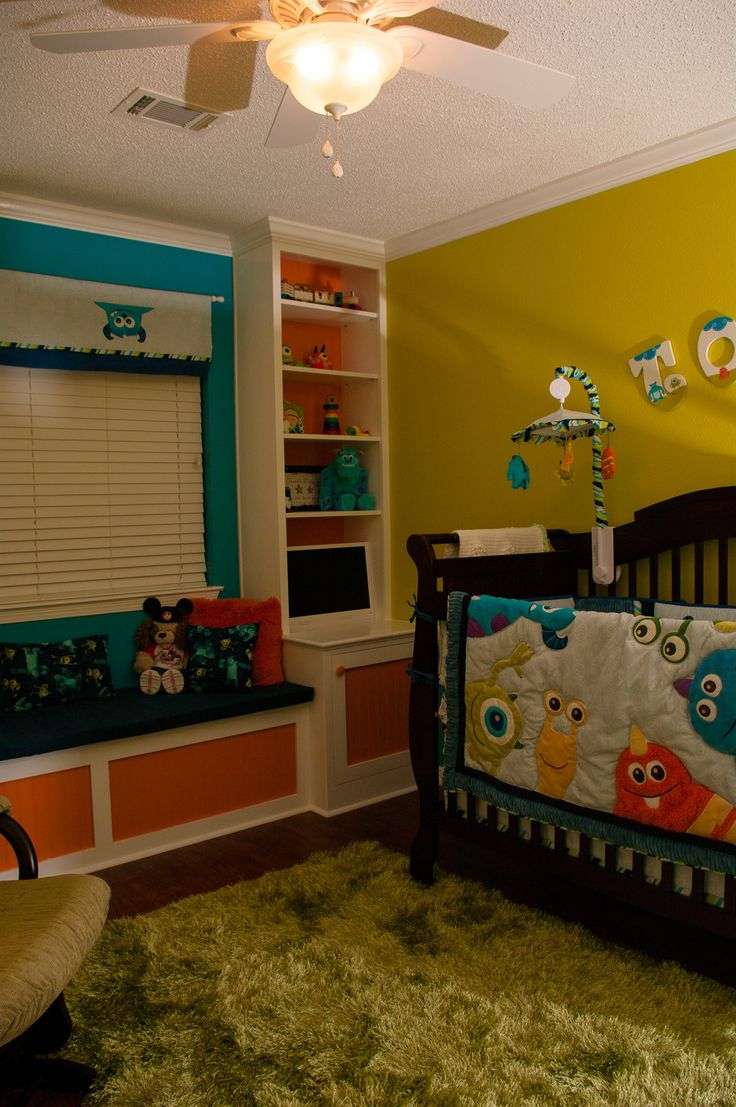 DIY monsters Inc nursery from scratch @mlblipsmackers look it's so cute
