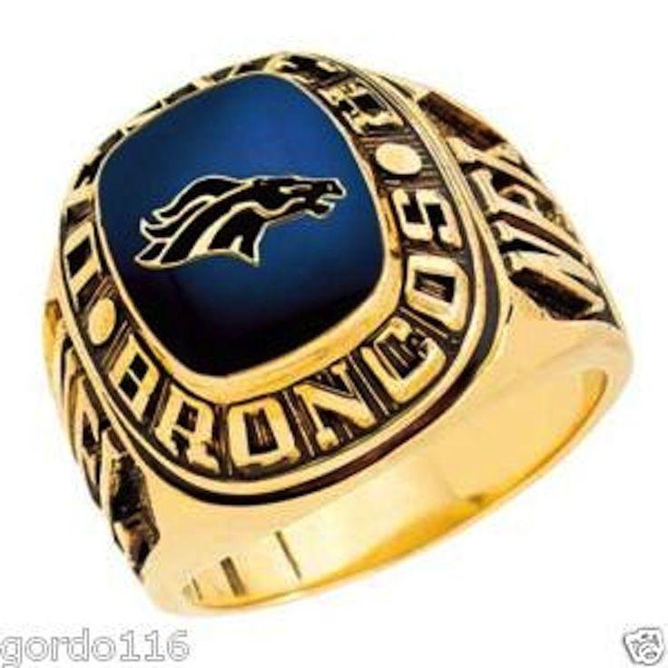 Balfour Jewelers Trophy Display Ring Denver Broncos