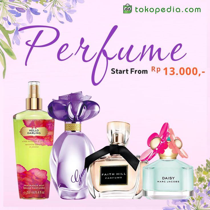 Kamu bakal tetap wangi sepanjang hari kalau menyemprotkan ini. Yuk lihat berbagai merk parfum, mulai dari Rp 10.000,- di http://www.tokopedia.com/p/kecantikan/mandi-perawatan-tubuh/parfum