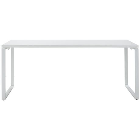 Maybe something like this for a computer desk. Light not clunky or heavy.