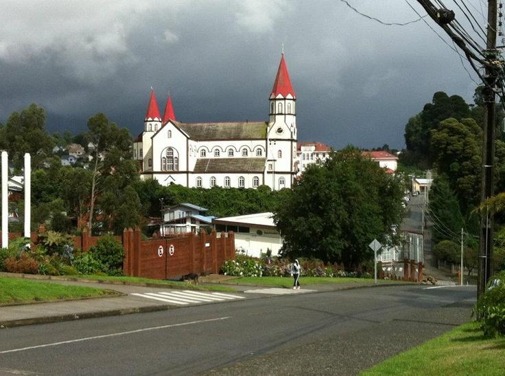 Iglesia de Puerto Varas. Foto tomada durante mis vacaciones en esa ciudad. Para volver!!!