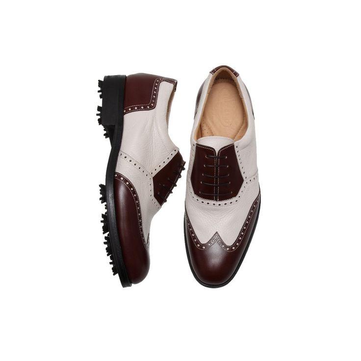 Verona Calf Deer Skin Golf Shoes – Treccani Milano