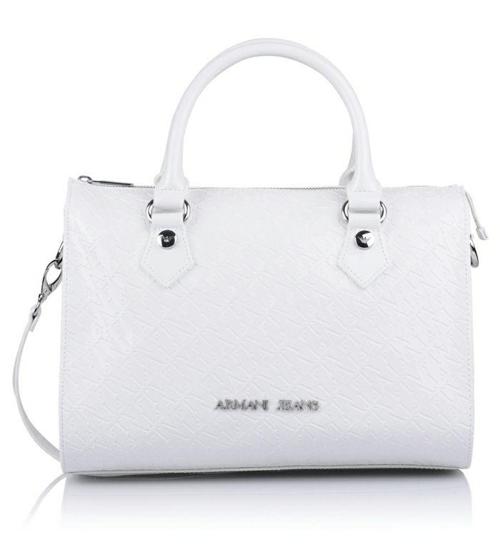 Billig handtasche weiß