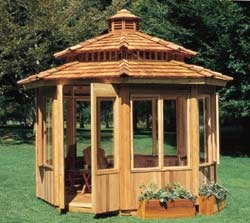 All season 12' gazebo. def need one of these for the backyard!