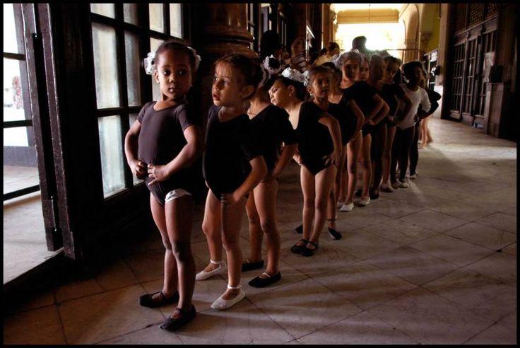 Ballet class, Havana, 2005
