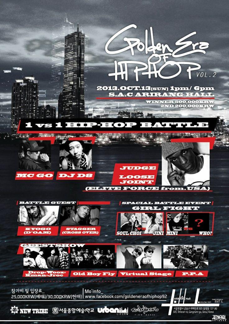 Hiphop battle poster design