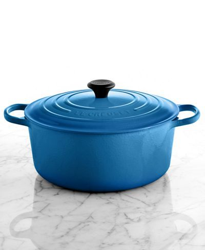 Le Creuset Signature Enameled Cast Iron 9 Qt. Round French Oven - Sale & Clearance - For The Home - Macy's