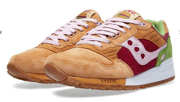 Saucony burger sneakers