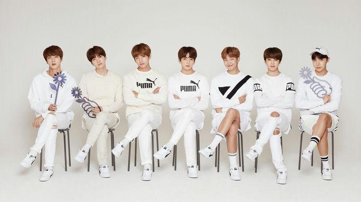 BTS in PUMA ad