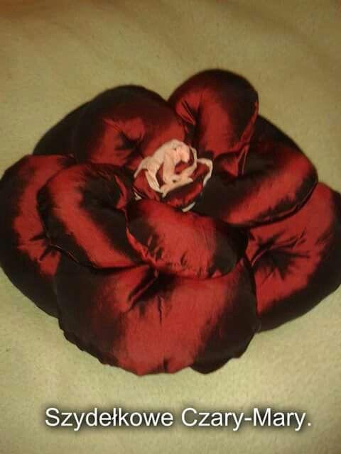 Poduszka # roza #kwiat
