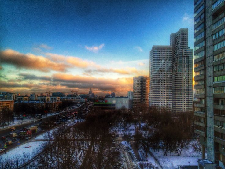 View on the City/Moscow