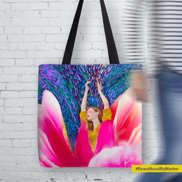 Sunshine Blossom Tote Bag created by @BeautifuuulByMarine:  http://rdbl.co/2nfqEoL