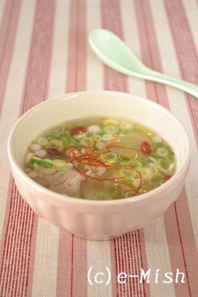 鶏とたっぷりお葱の塩糀白湯スープ|レシピサイト「Nadia / ナディア ...