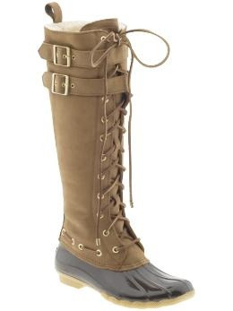 Sperry Winter Boots. Please and thank you