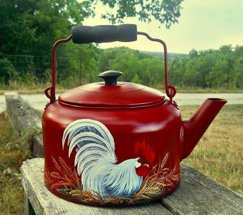 vintage tea kettle - Google Search