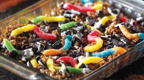 Cocoa Krispies Earth Worm Treats - Grandparents.com