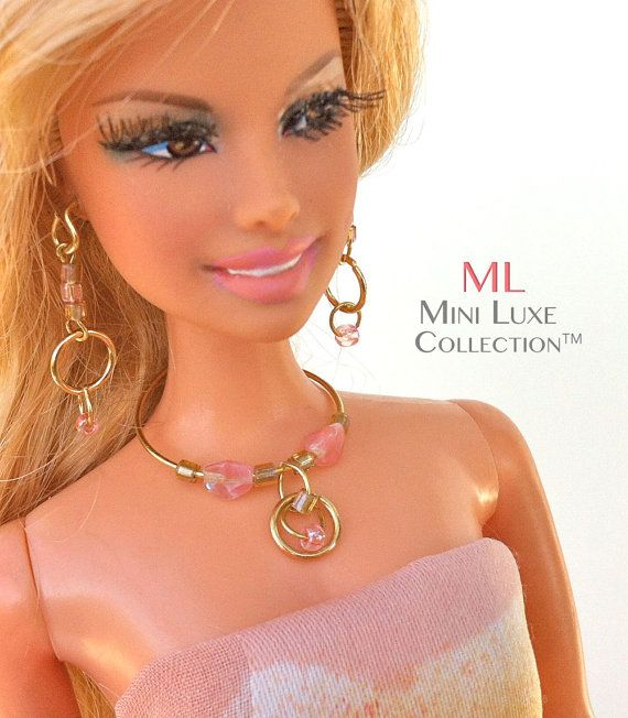 Doll Jewelry for Fashion Royalty dolls  by MiniLuxeCollection, $26.00