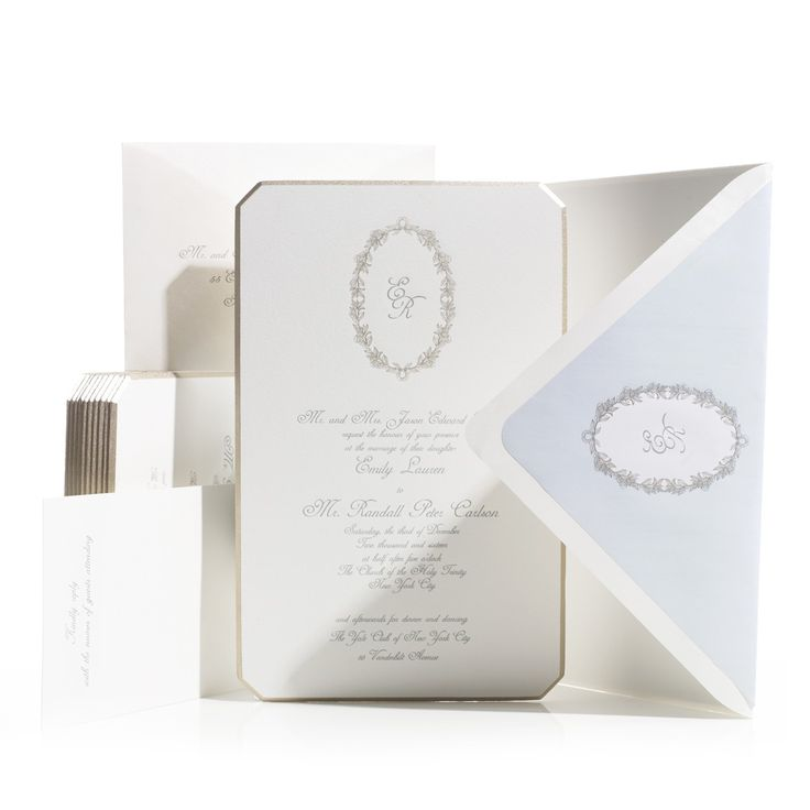 62 best Bell\'INVITO Couture Wedding Invitations images on Pinterest