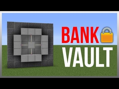 Minecraft 1.11: Redstone Tutorial - Ultimate Vault! (Store Valuables) - YouTube