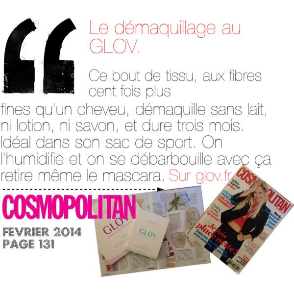 """Quote COSMOPOLITAN article"" by glov-hydro on Polyvore"