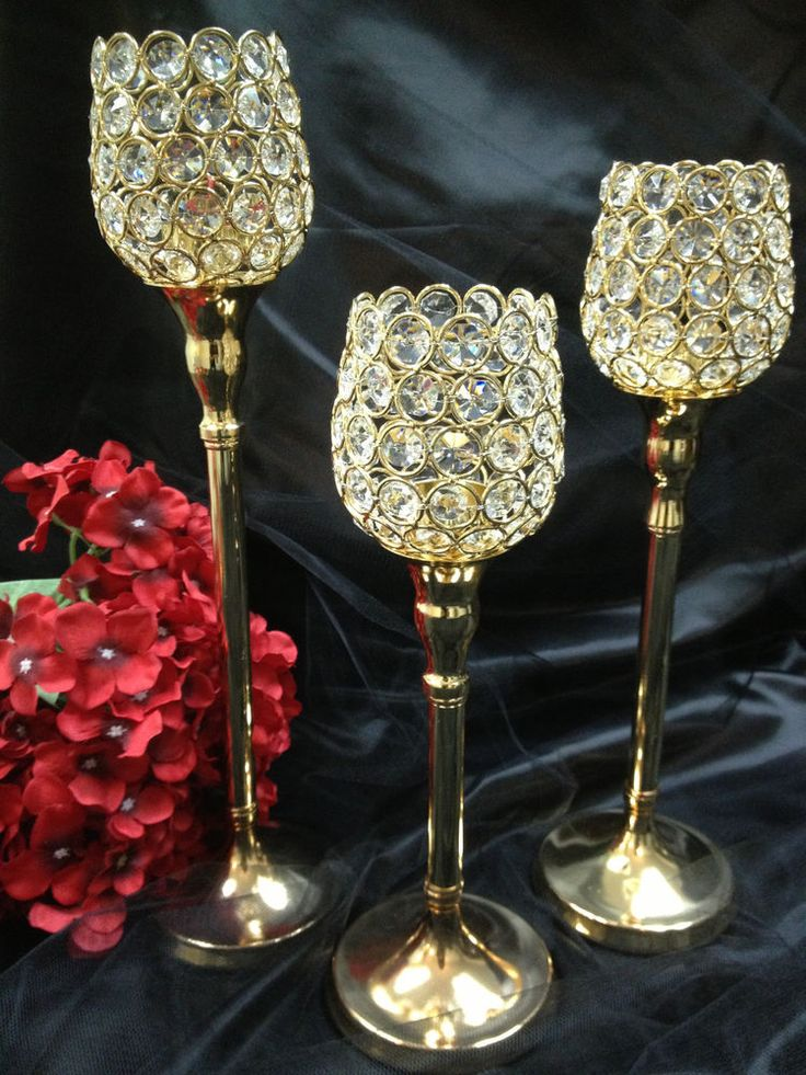 Best ideas about gold votive candle holders on