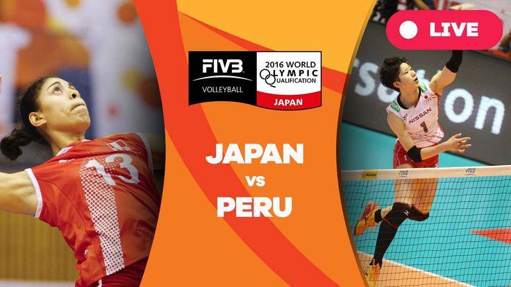 Japan v Peru - 2016 Women's World Olympic Qualification Tournament