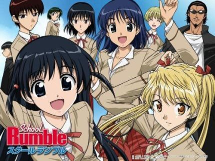 high school rumble | school rumble is a high school romance comedy anime based on a manga ...