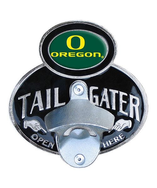 This would be awesome for the van...Oregon Ducks Hitch/Bottle Opener @Kyle Pulliam and @ Stan Pulliam.