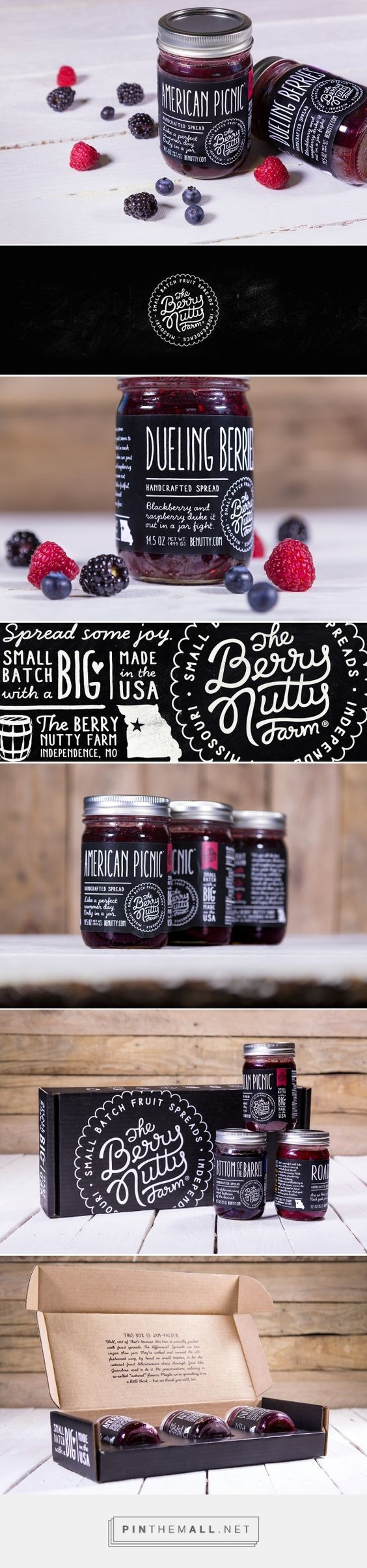 Jam Packaging Design Curated by Little Buddha