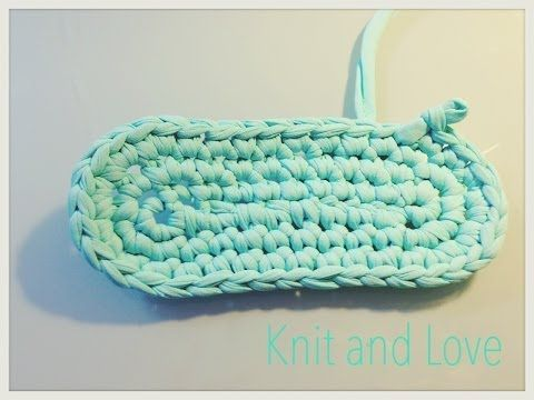 APRENDE GANCHILLO BASE BOLSO TRAPILLO Y PUNTO PUFF / Knit and Love