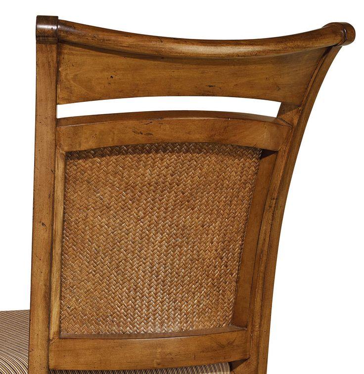 Hooker Furniture Dining Room Windward Raffia Counter Stool 1125 76450   American  Factory Direct