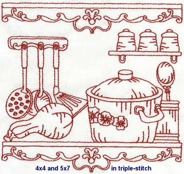 OregonPatchWorks.com - Sets - Vintage Kitchen - Exclusive