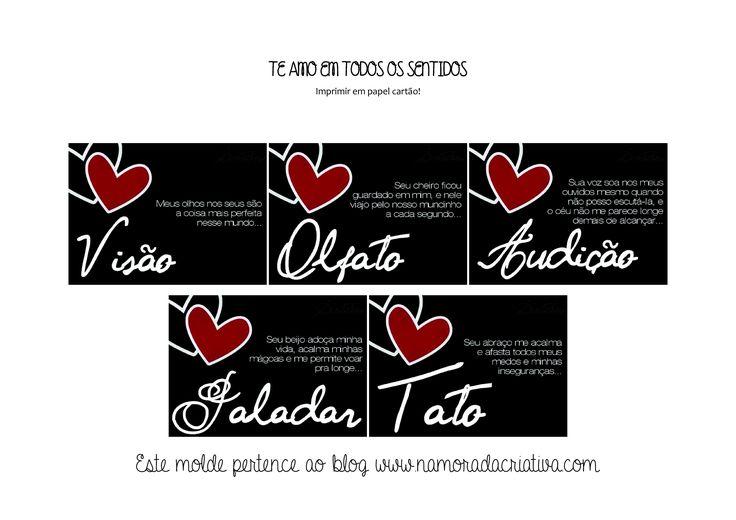 CAIXA DOS 5 SENTIDOS - TAGS