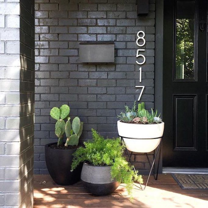 BECKI OWENS-- Pros and Cons: Painted Brick Exteriors