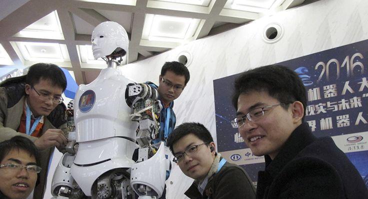 Una ciudad de inteligencia artificial se inaugura en el este de China. 12/07/17