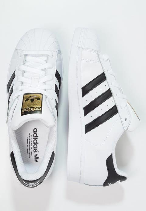huge discount a6d51 2369e adidas Originals SUPERSTAR - Baskets basses - white core black - ZALANDO.FR   Sneakers