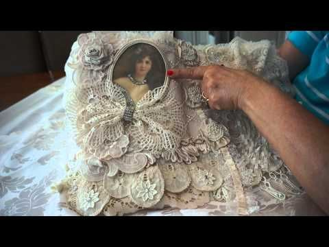 ~Tattered Lace Tablet Cover ~ - YouTube