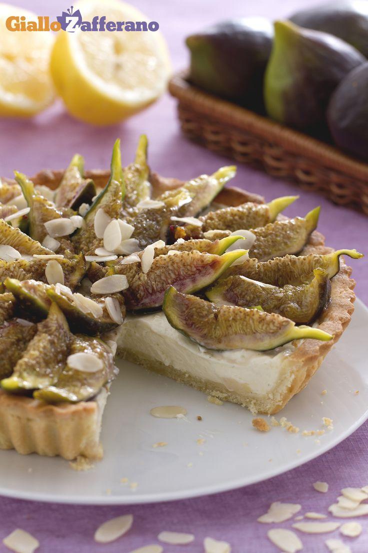 CROSTATA di FICHI e MASCARPONE (fig and mascarpone tart) esalterete ancora di più la bontà di questo frutto!