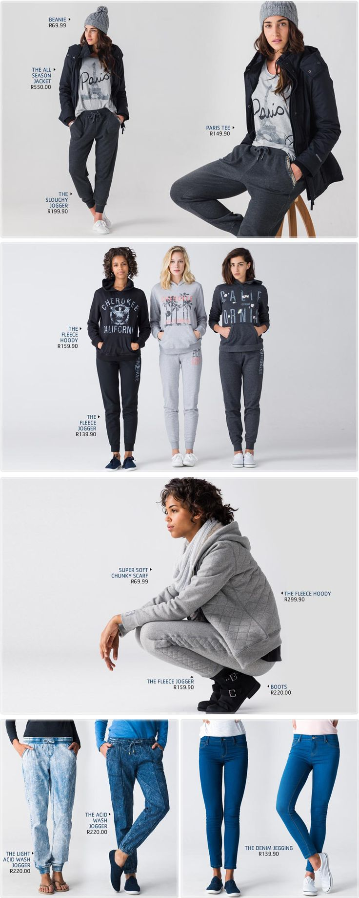 Pick n Pay Clothing Style File | T Shirt - Pick n Pay - Jeggings and Joggers to suit your shape and size