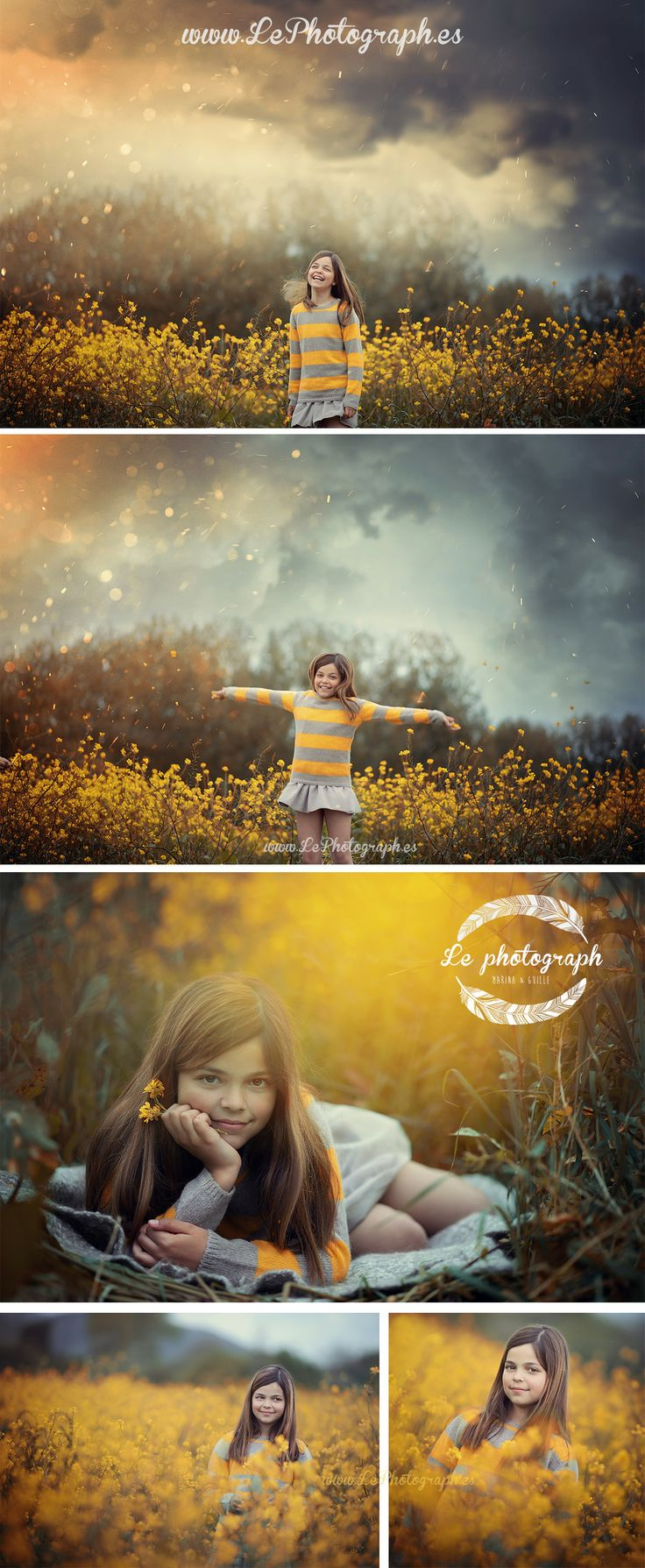 12 year old girl photoshoot -  teenager sesion. Creative in exterior.  www.Lephotograph.es